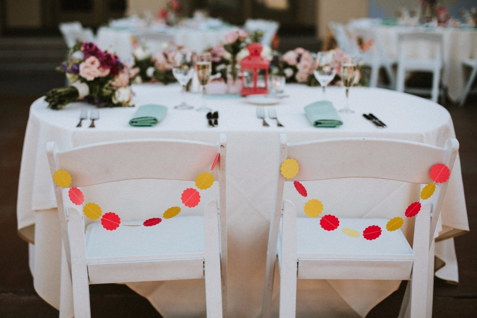 Sweetheart chair decor