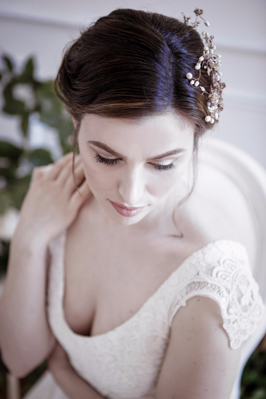 sweet and simple wedding style for your bridal look