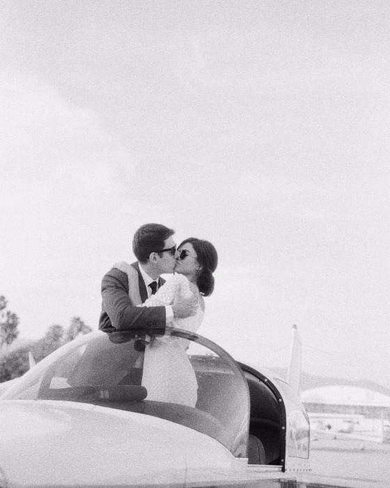 15 of the Sweetest Wedding Kisses We've Loved Lately