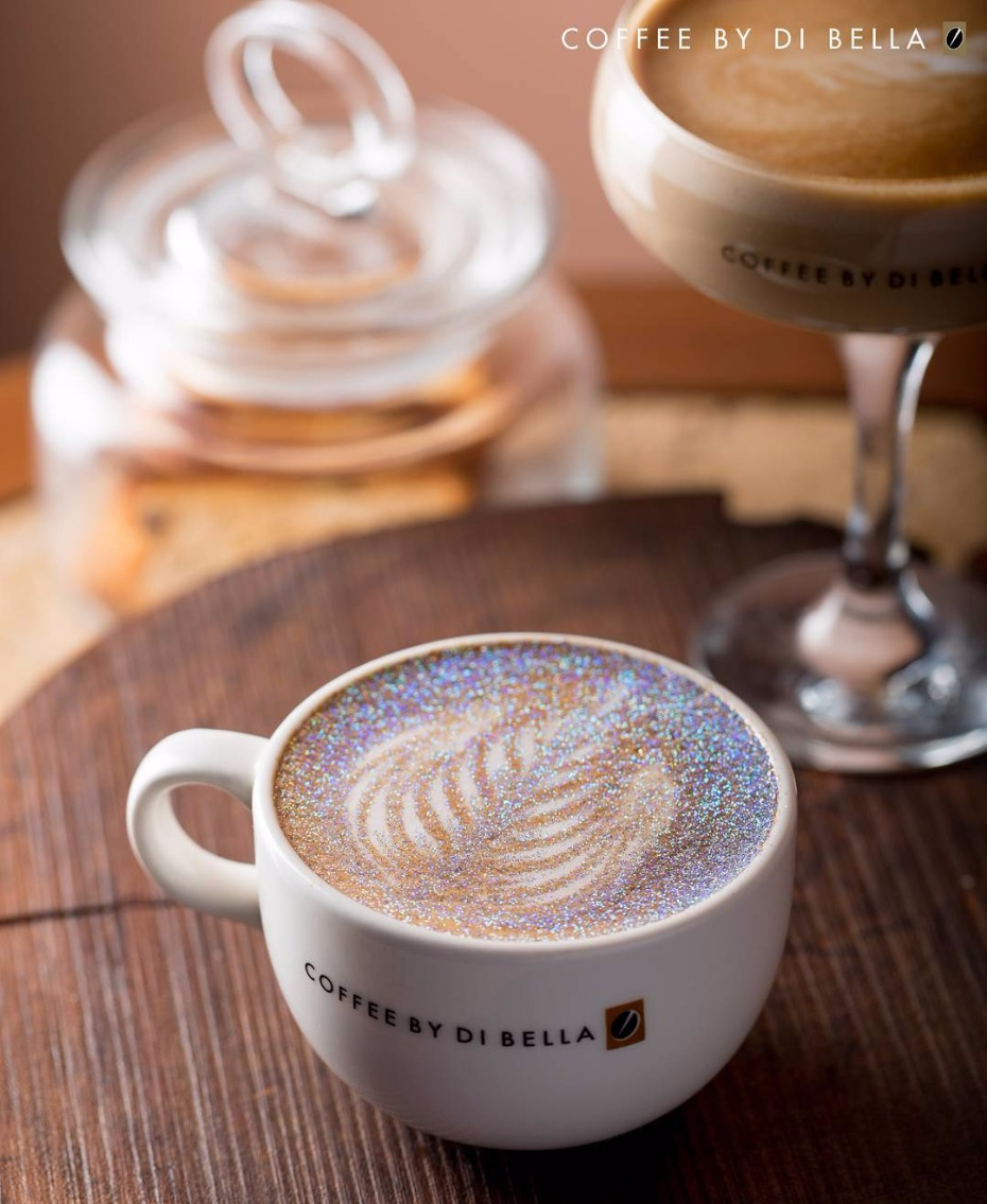 Glitter Cappuccino Coffee By Di Bella