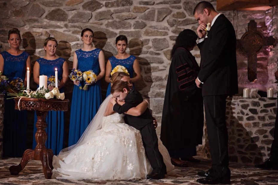 Bride Vows to Love Stepson Forever