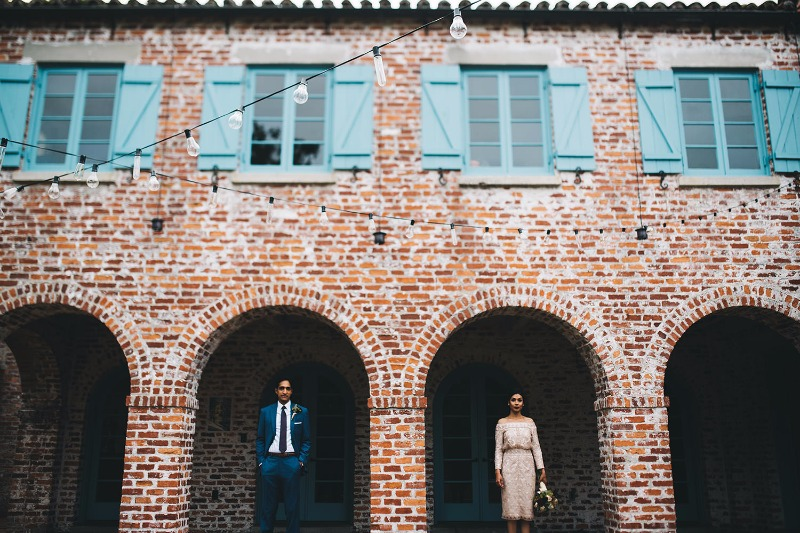 These two eloped and had awesome wedding portraits at Casa Feliz in Winter Park, FL.