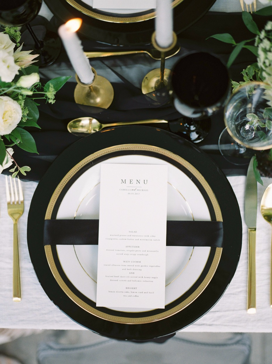 Classic place setting