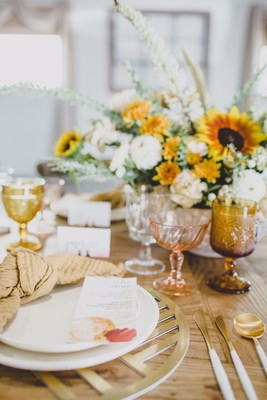 Warm Fall Wedding Inspiration From Southern California