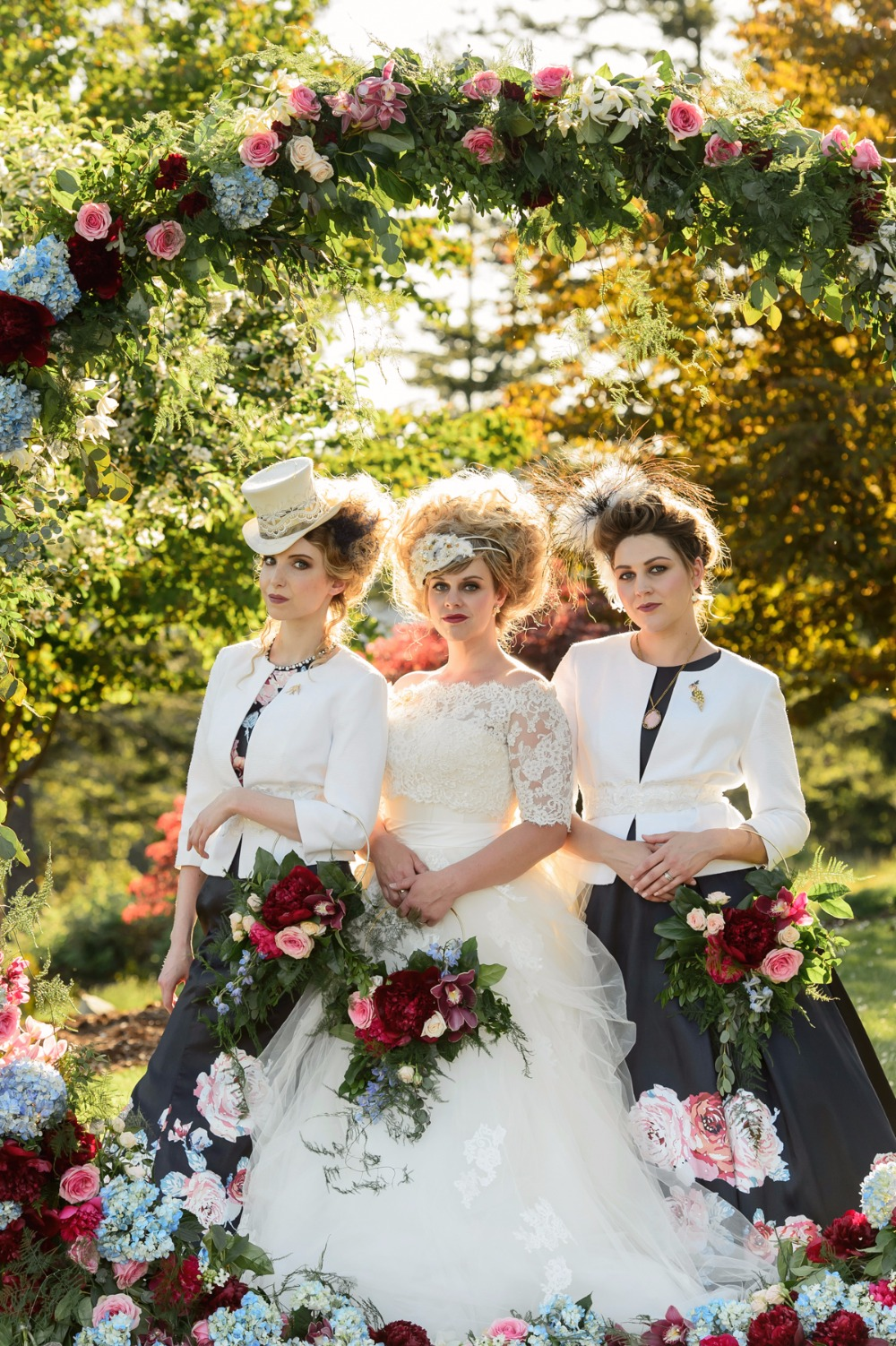 A Colorful Over-the-Top Wedding Inspired by Marie Antoinette
