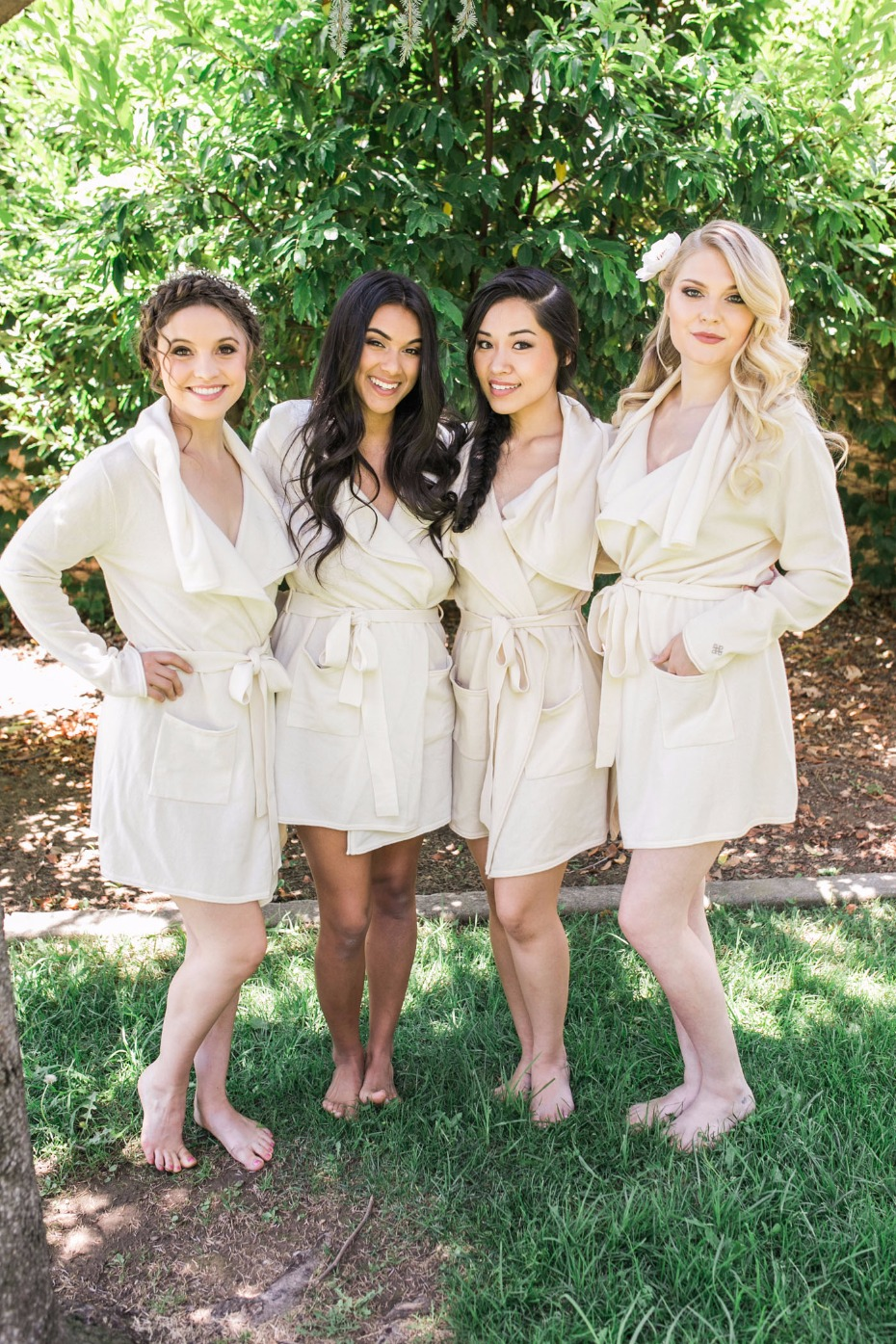 Cute and comfy cashmere robes from Anna K.outure