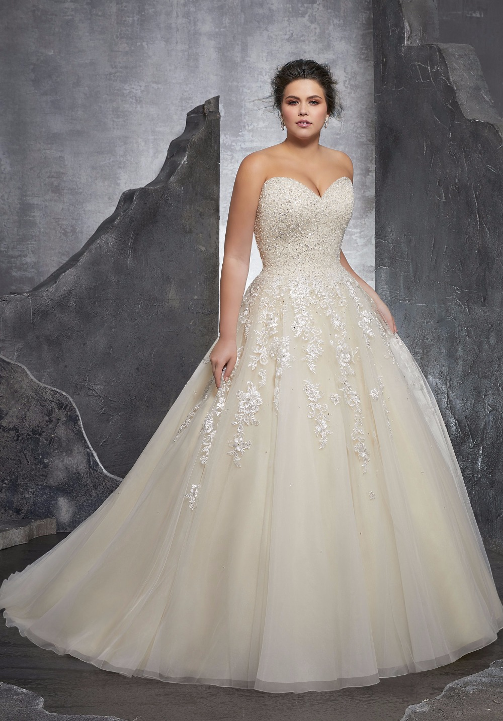 8 Glamorous Plus Size Wedding Dresses You\'ll Want To Wear