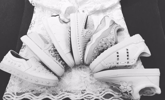 Serena Williams Just Made Every Bride Obsessed With Sneakers