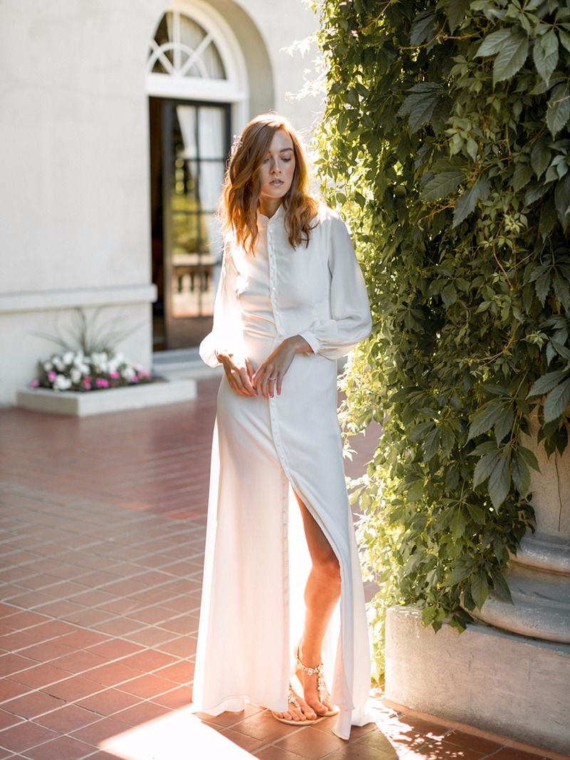 The Astrid Gown, a tailor-made, beat of her own drum kind of gal.