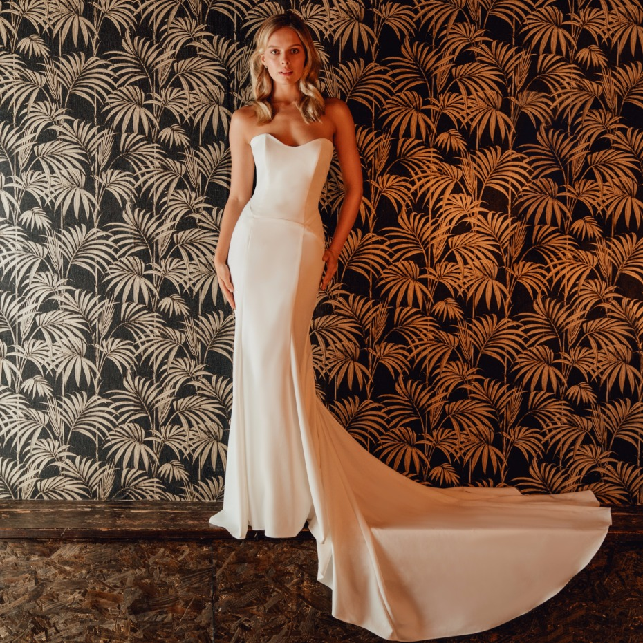 The Jason gown from Tulle New York