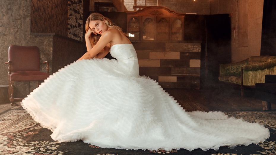 The Devon gown from Tulle New York