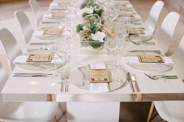 How To Create A Modern Meets Organic Wedding