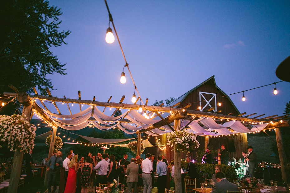 Outdoor venue lighting