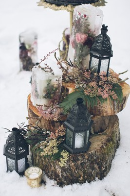 White Winter Wedding Ideas Will Warm Your Heart