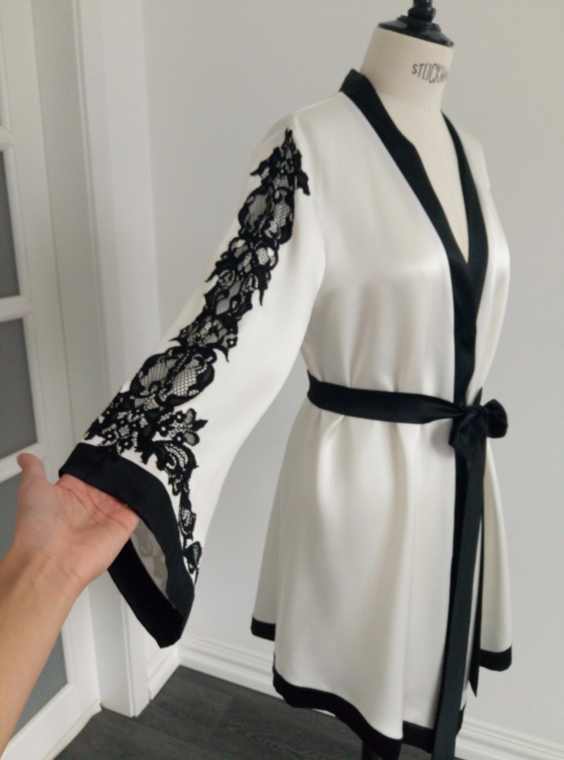 Custom robe for our client. Send to us design what you like and we will do something really special for you