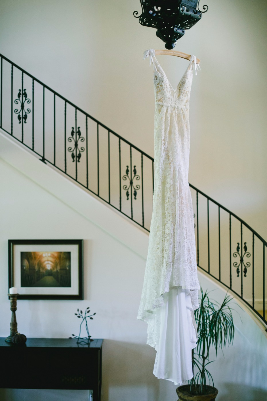 Inbal Dror wedding dress ready for the wedding