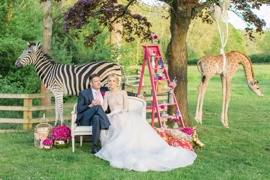Have a wild and fun circus themed wedding