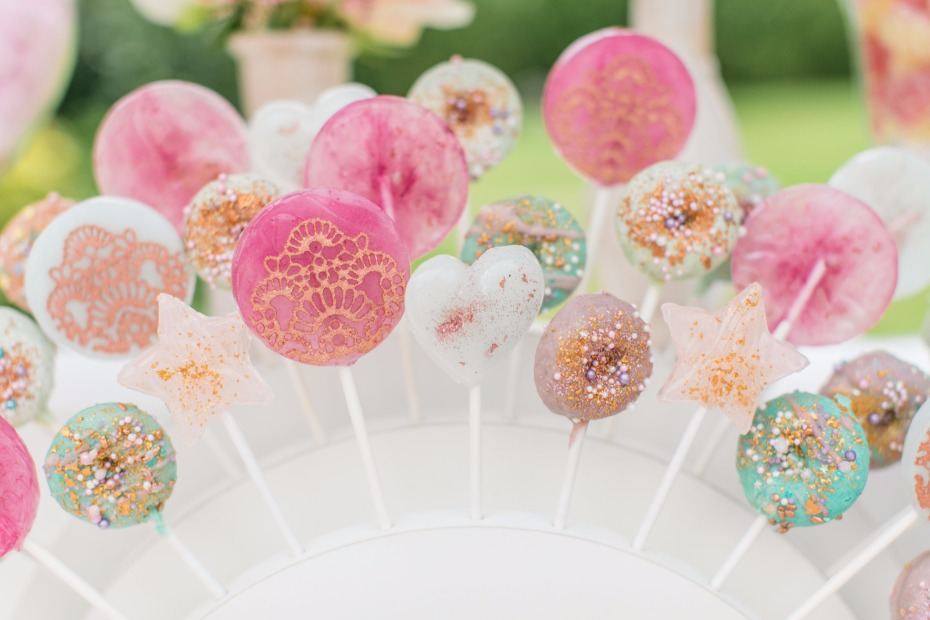 Fancy lolipops