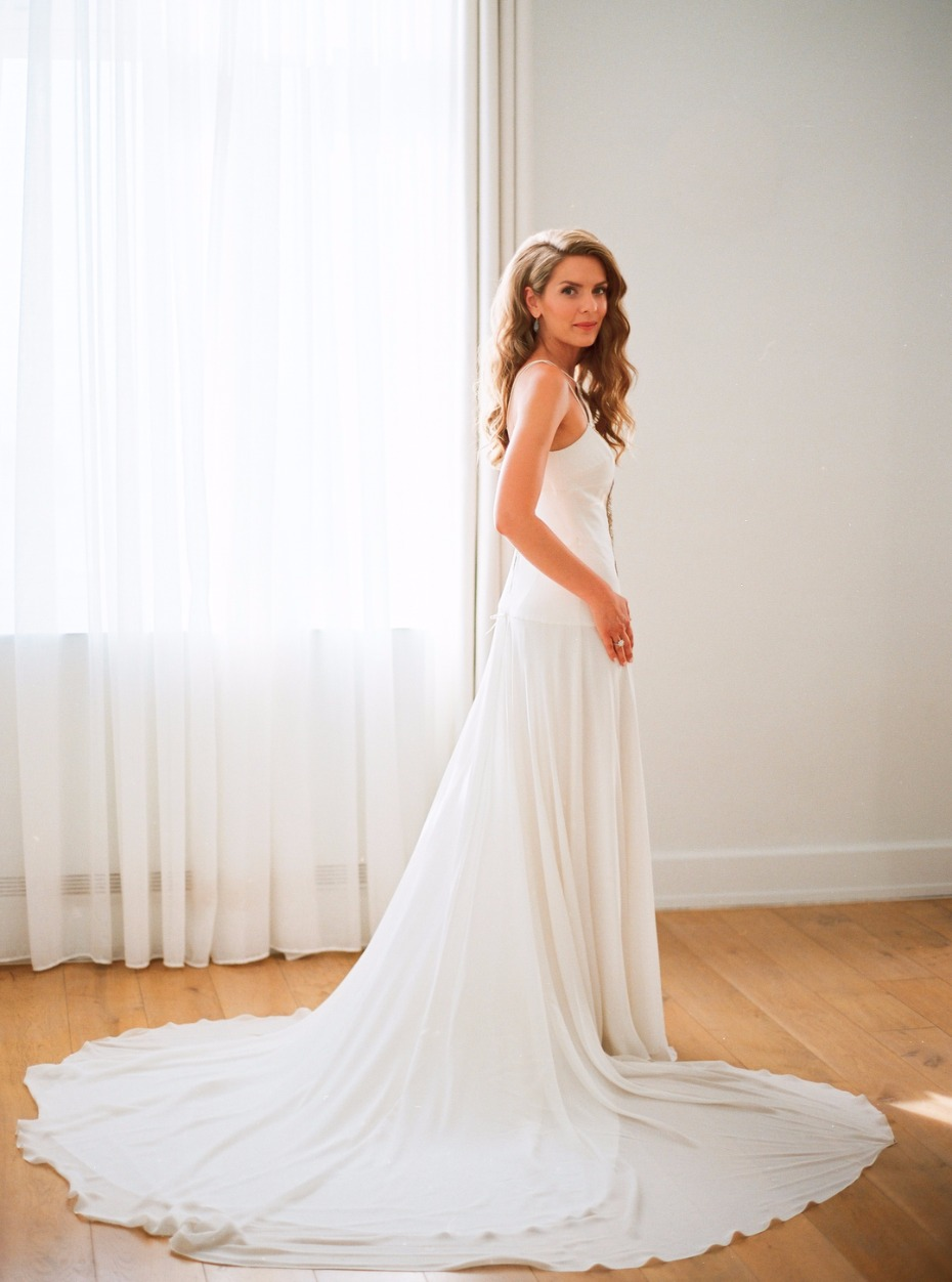 Amanda Wakeley wedding dress