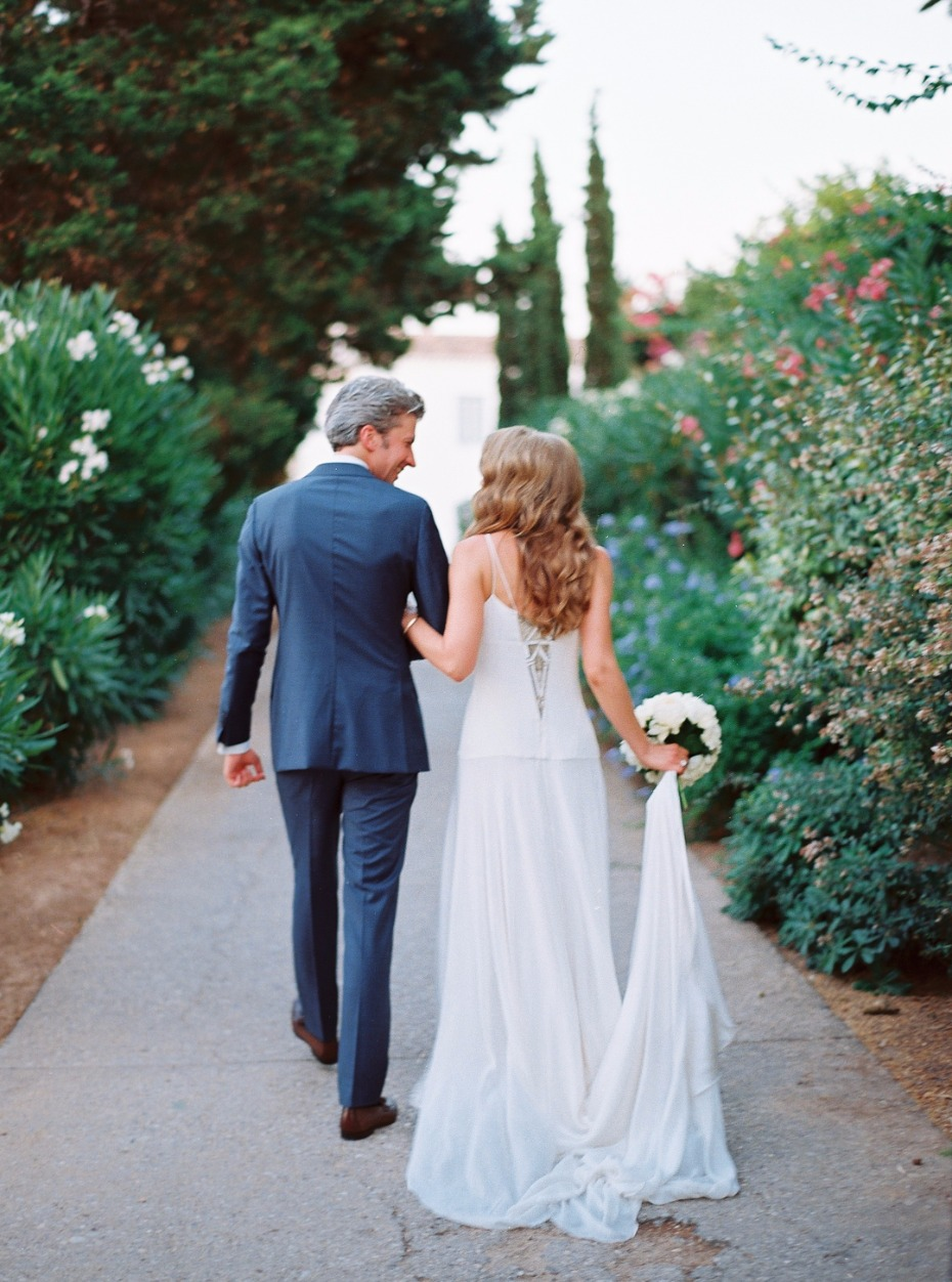 Chic Greek destination wedding