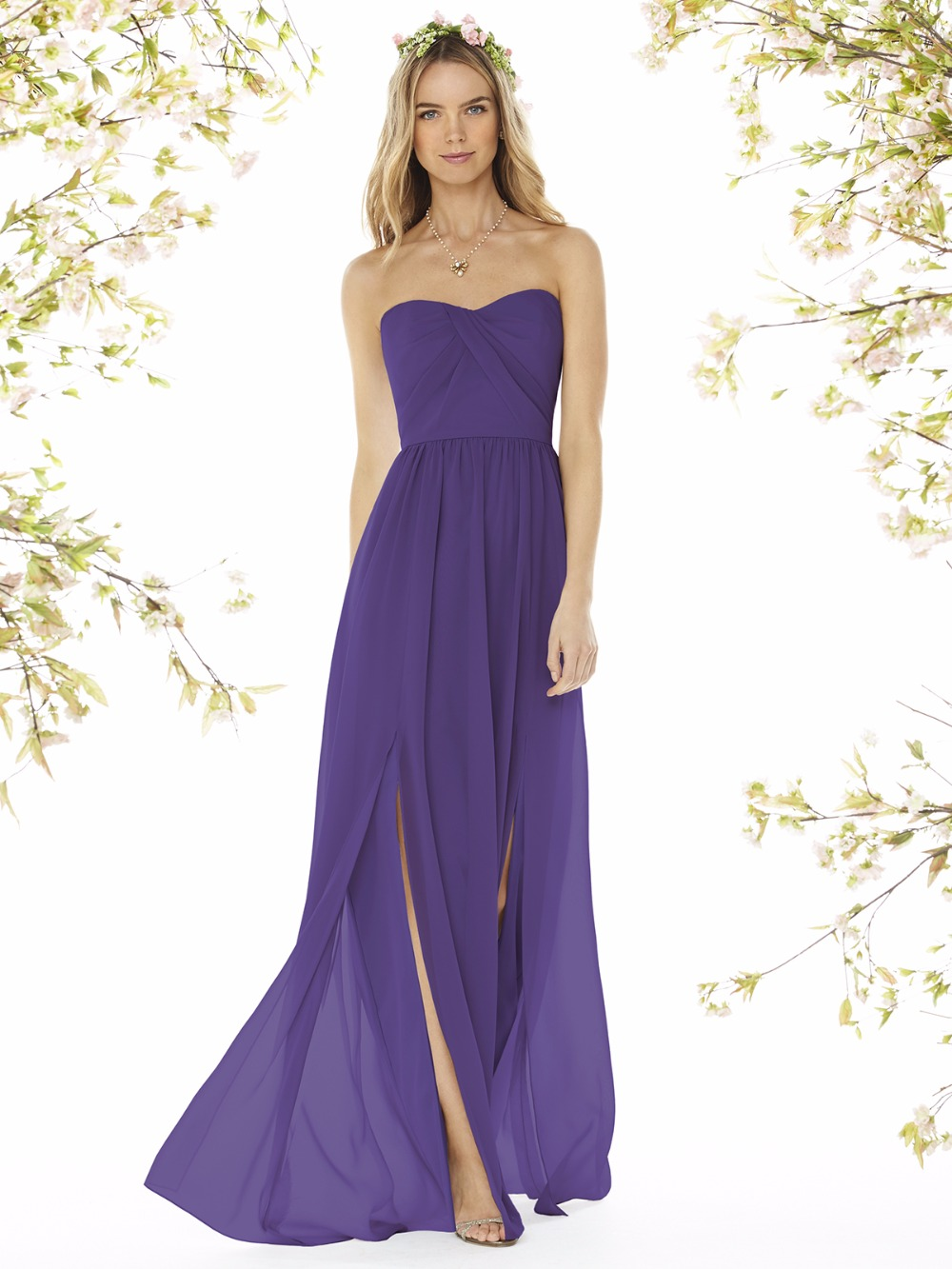 Ultra violet color dress