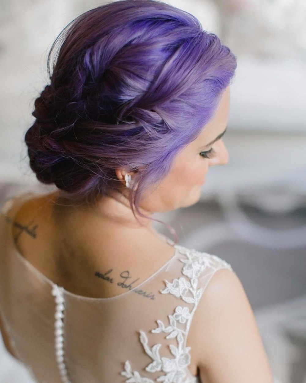 Ultra Violet Weddings Are Coming in Haute
