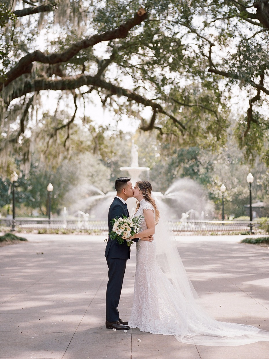 Beautiful Savannah wedding
