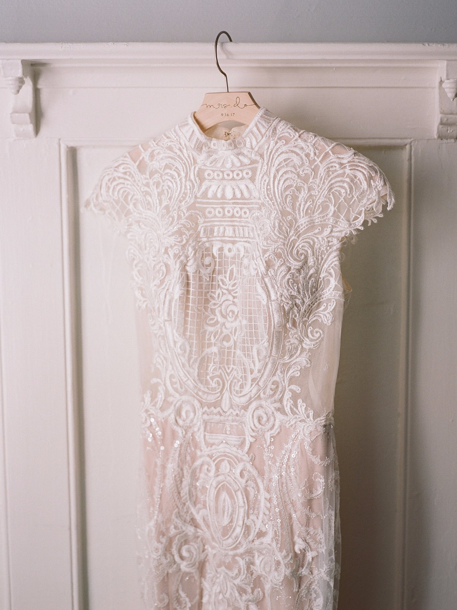 Beautifully detailed gown from Calla Blanche