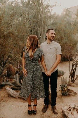 Palm Springs Engagement Photo Ideas by Emma Hopp
