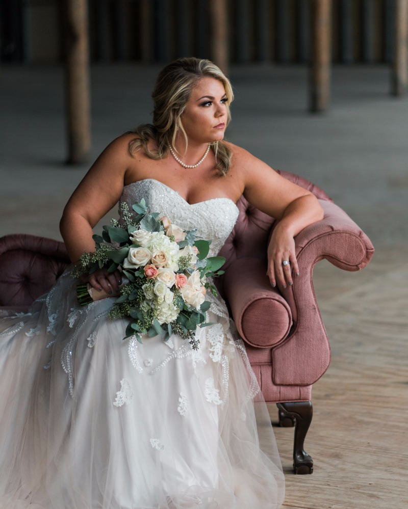 Kendall's bridal session at the McKinney Cotton Mill was literally everything!