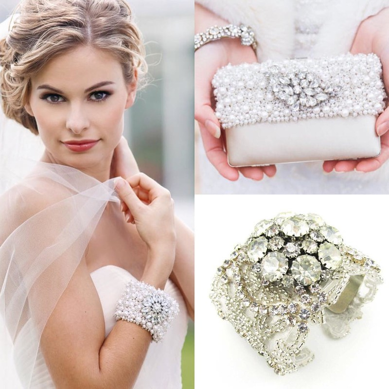 Finish you bridal look with gorgeous #bridalaccessories
