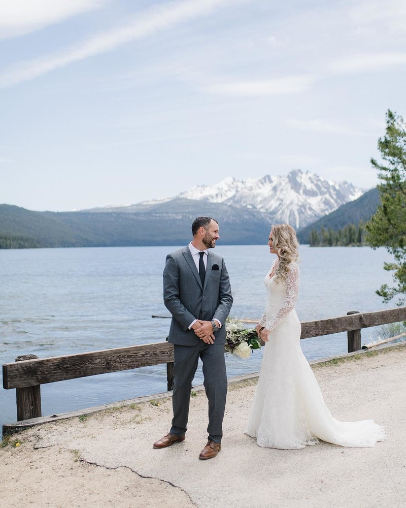 If you love mountains, blue lakes and your are engaged, I think we should talk.