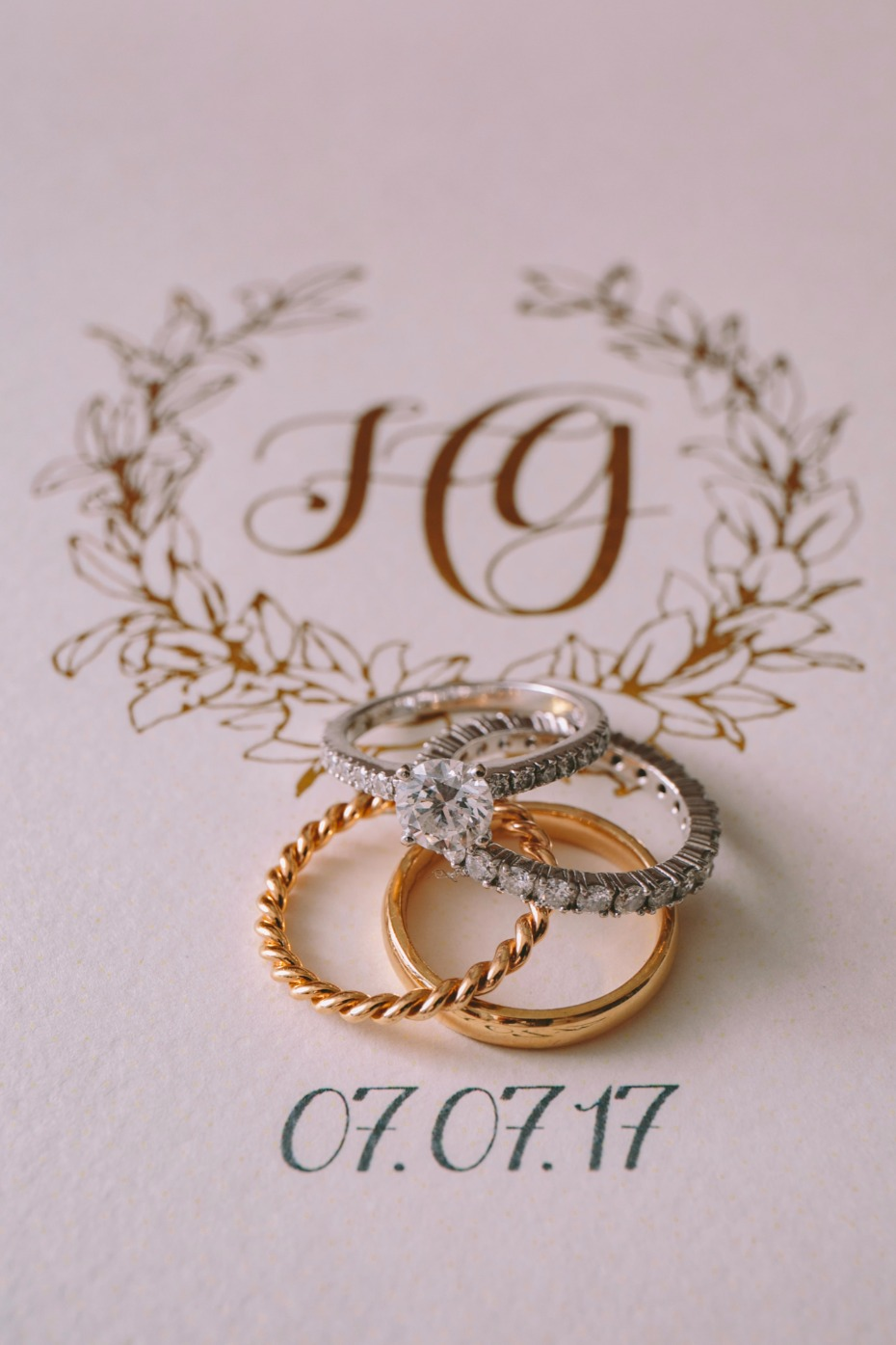 elegant wedding bands