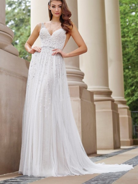Martin Thornburg's Premiere Dress Collection with Mon Cheri Bridals