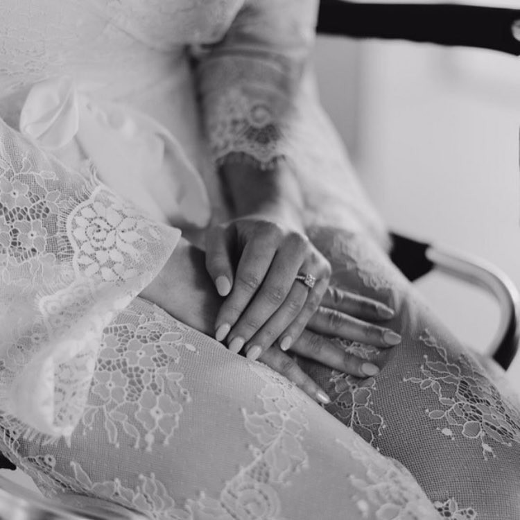 Beautiful photo of the 'Graceful' Lace Maxi Robe 💗 LR xx 📸