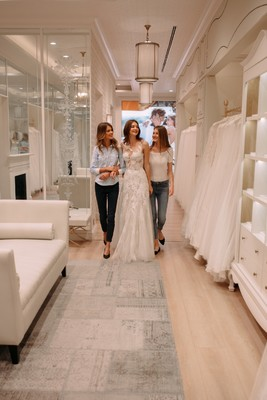 Pronovias Approves of the BFF Bridal Shopping Experience