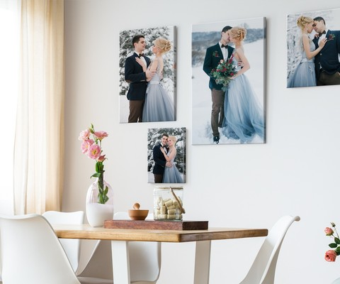 Capturing Your Winter Wedding Fairy Tale With CanvasDiscount.com