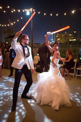 How to Have A Star Wars Wedding... Yes There Will Be Lightsabers!