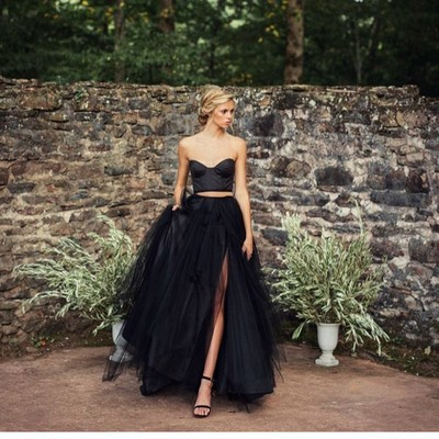 Christina Perri's All-Black Wedding Look is What Dreams Are Made Of
