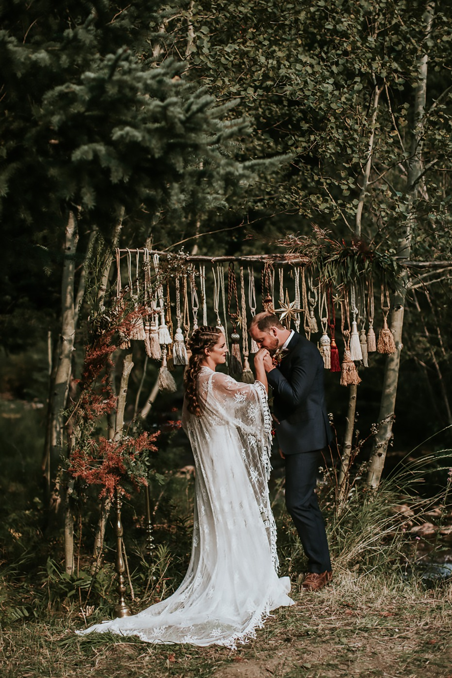 romantic rustic wedding ideas for the late fall