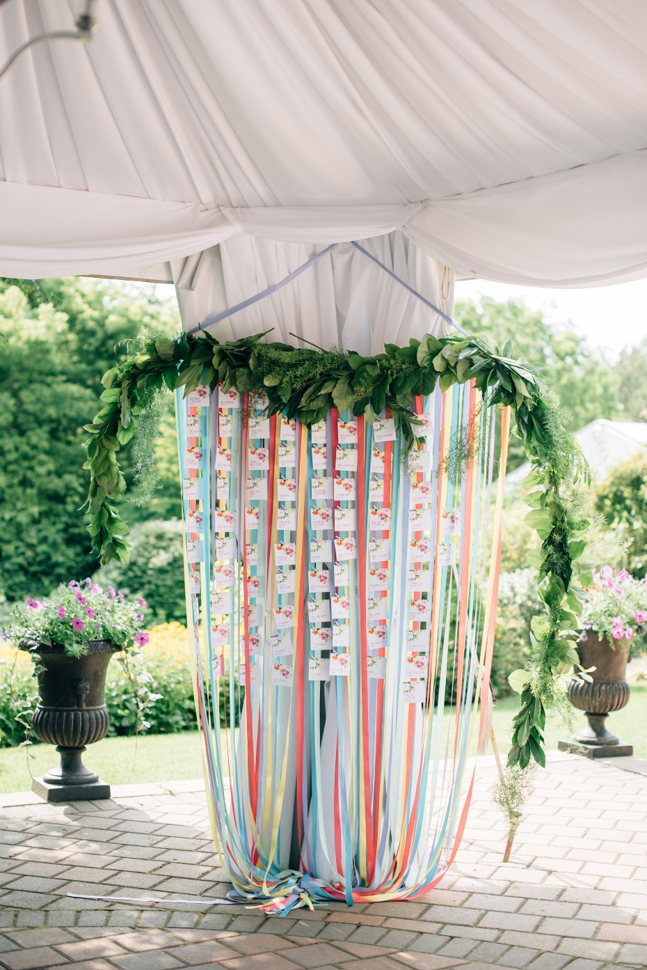 Ribbons seating chart