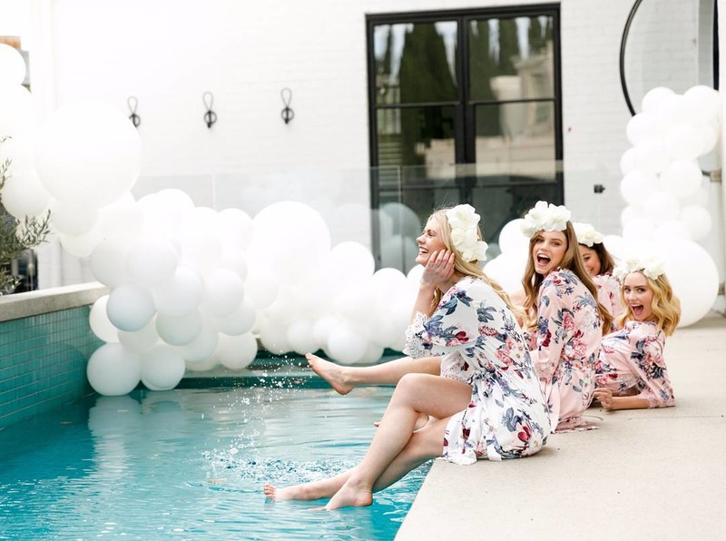 Poolside in the 'Gemstone' robe | Available online | Shipping worldwide💗LR xx