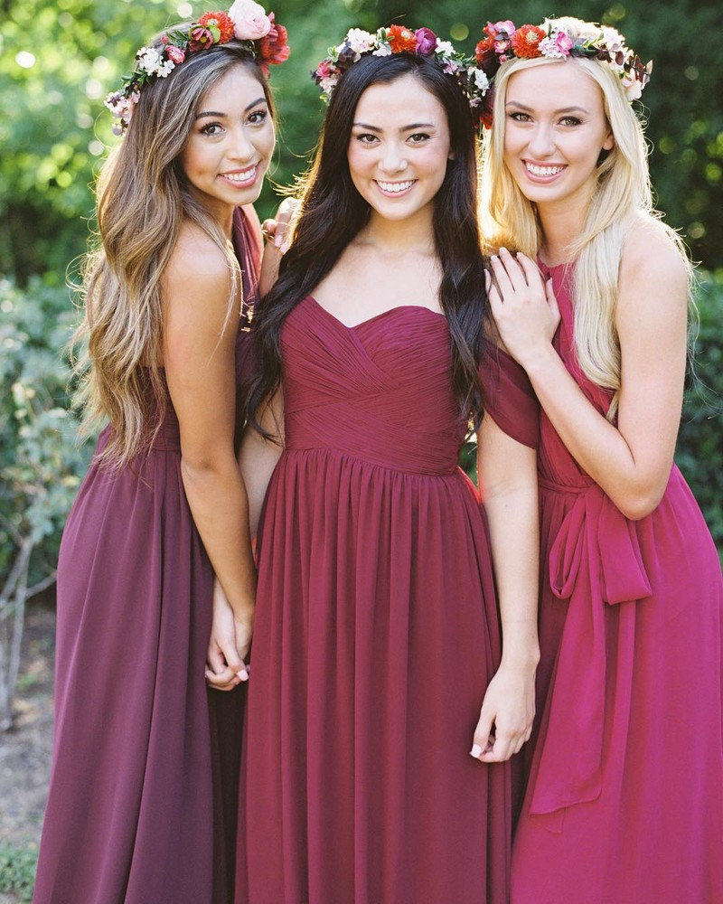 Bring on the berry beautiful bridesmaids.❤️ #ShopRevelry