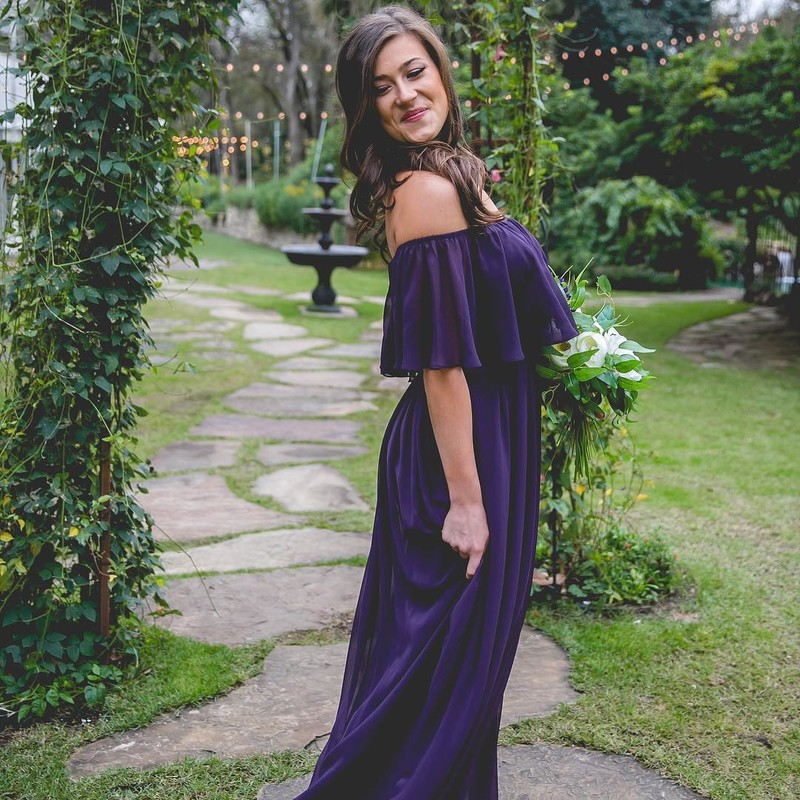 Your new favorite bridesmaid dress turned anytime dress.💜