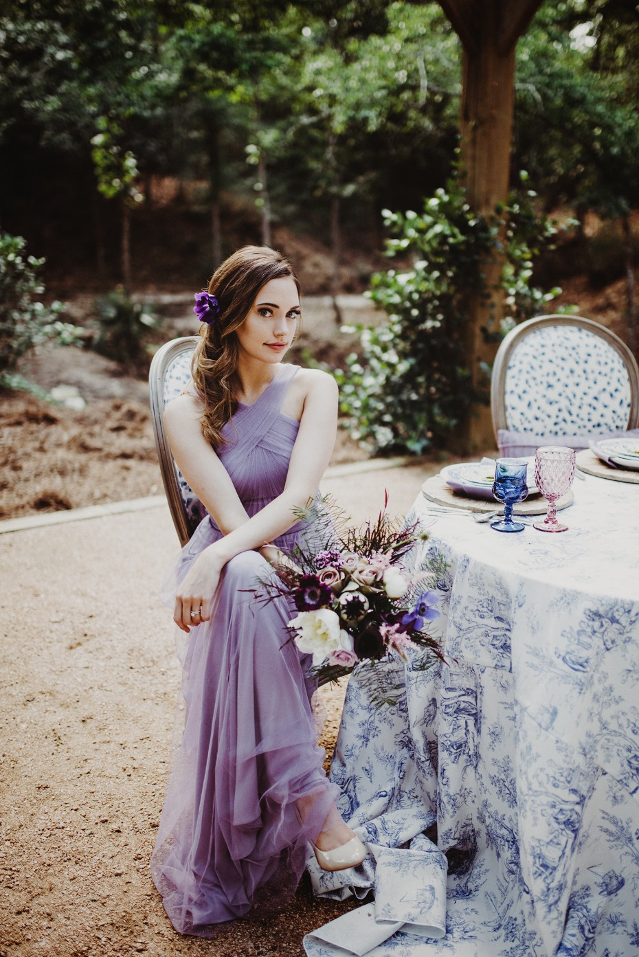 Beautiful bridesmaid look