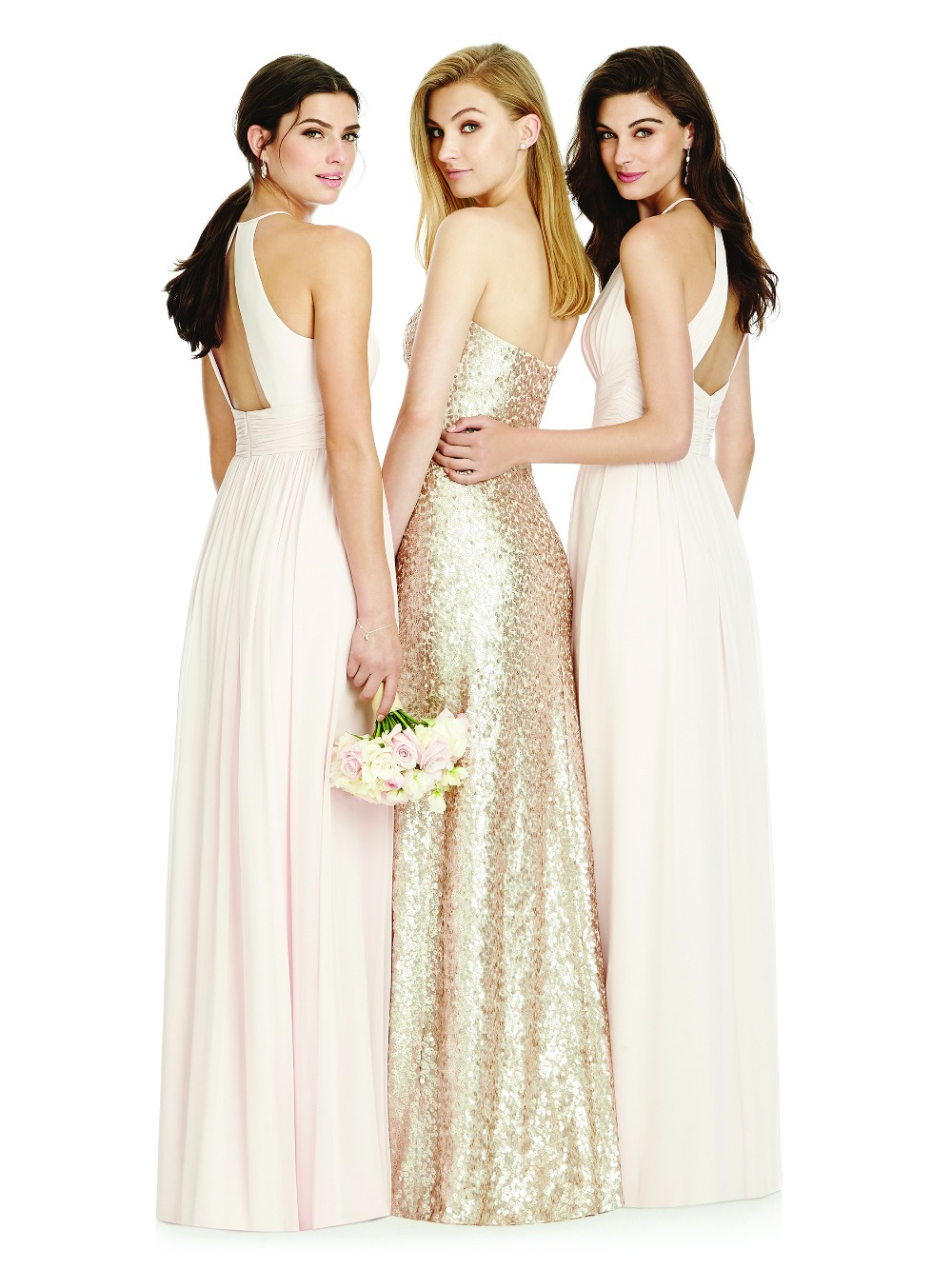 Sequin bridesmaid dresses by dessy ombrellifo Gallery