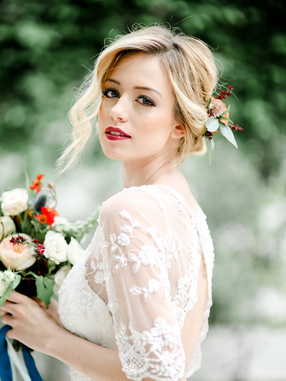 wedding makeup for you boho wedding