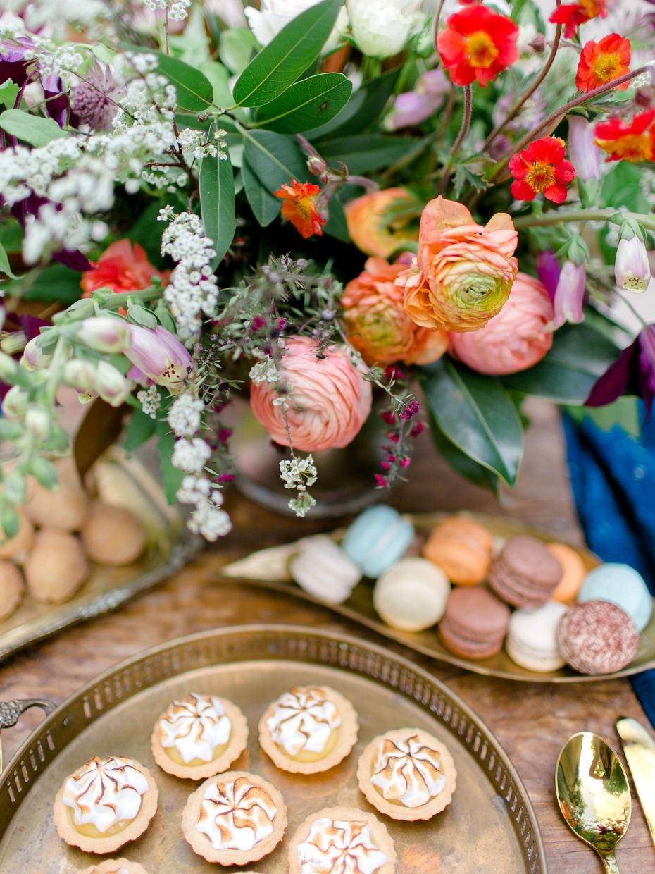 wedding cookies and baked goods from Walton's Fancy and Staple