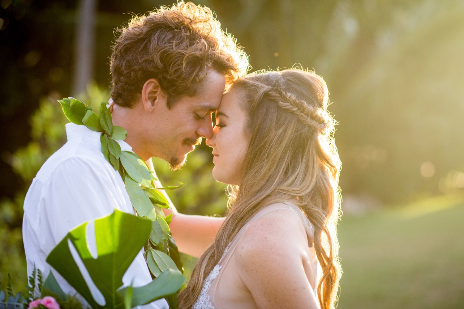 A Tropical Styled Elopement for Two in Hawaii