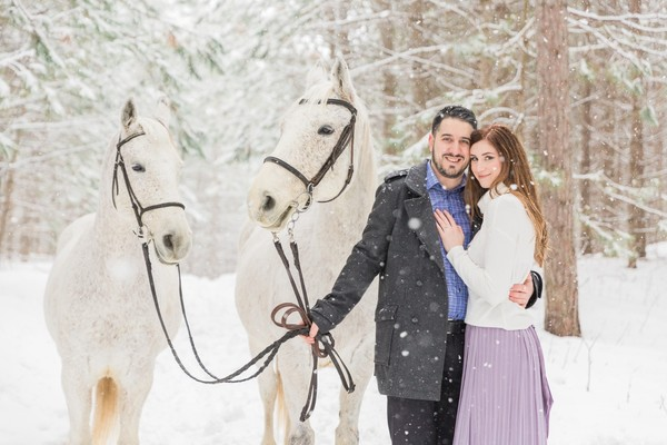 Baby It's Cold Outside, So Let's Have An Engagement Shoot!